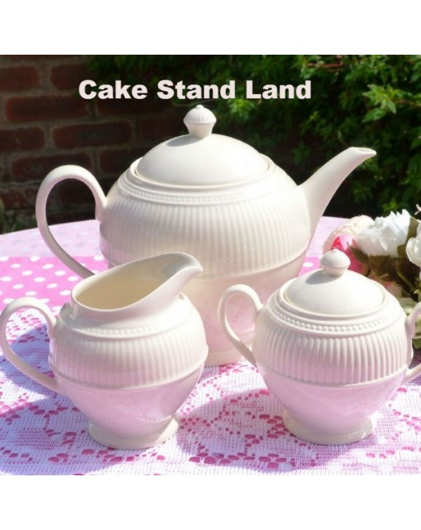 (OUT OF STOCK) WEDGWOOD WINDSOR TEAPOT SET